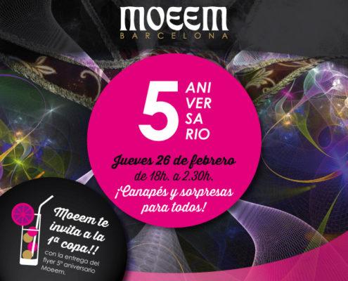 5 años Moeem