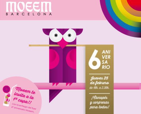 6- años Moeem Barcelona