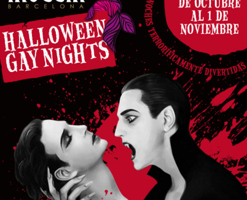 Halloween Gay Nights en Moeem Barcelona